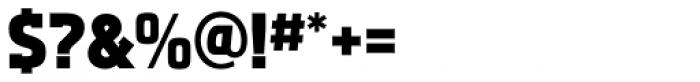 Aquarius ExtraBold Font OTHER CHARS