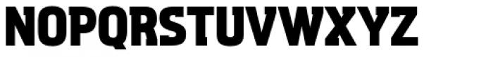 Aquarius ExtraBold Font UPPERCASE