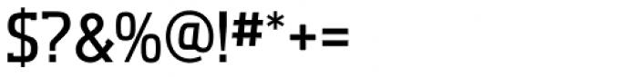 Aquarius Medium Font OTHER CHARS
