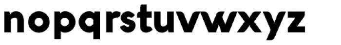 Aquawax Black Font LOWERCASE