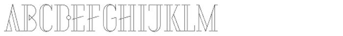 Aquus Linearis Font LOWERCASE