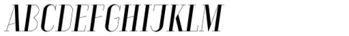 Aquus Simplex Italic Font LOWERCASE