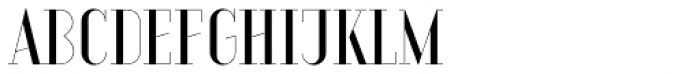 Aquus Simplex Font UPPERCASE