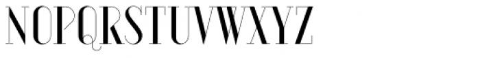 Aquus Simplex Font LOWERCASE