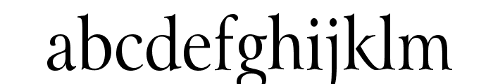 Array Thin Normal Font LOWERCASE