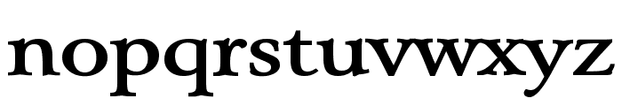 Array Wide Bold Font LOWERCASE