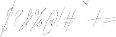 ARK Seychelle Signature otf (400) Font OTHER CHARS