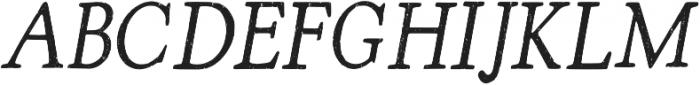 Arabica_chalk_2 Regular otf (400) Font UPPERCASE