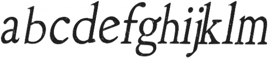 Arabica_chalk_2 Regular otf (400) Font LOWERCASE