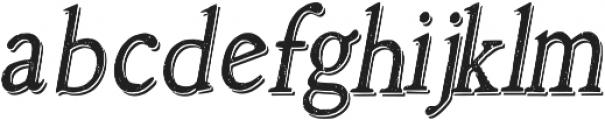 Arabicachalk_shadow Regular otf (400) Font LOWERCASE