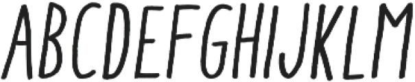 Aracne Cond Reg It otf (400) Font LOWERCASE