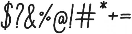 Aracne Soft Cond Reg It otf (400) Font OTHER CHARS