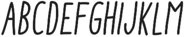 Aracne Soft Cond Reg It otf (400) Font LOWERCASE