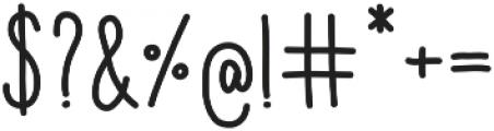 Aracne Soft Cond Reg otf (400) Font OTHER CHARS