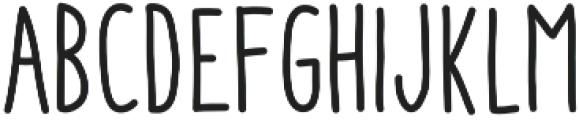 Aracne Soft Cond Reg otf (400) Font LOWERCASE