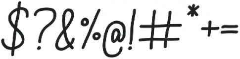 Aracne Soft Reg It otf (400) Font OTHER CHARS