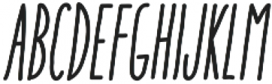 Aracne Soft UltraCond Reg It otf (900) Font UPPERCASE