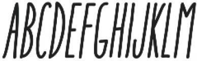 Aracne Soft UltraCond Reg It otf (900) Font LOWERCASE