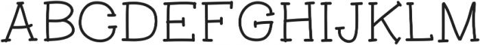 Aranza Serif ttf (700) Font UPPERCASE