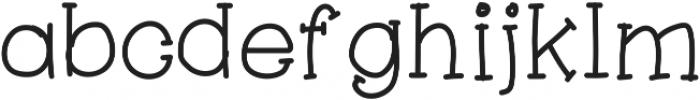 Aranza Serif ttf (700) Font LOWERCASE