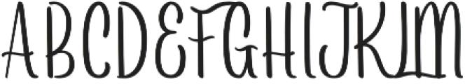 Arayara Regular otf (400) Font UPPERCASE