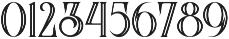 Arbatosh Inline otf (400) Font OTHER CHARS