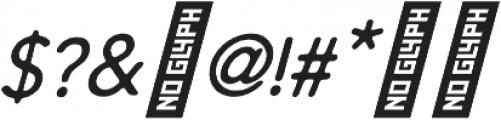Arbour Oblique ttf (400) Font OTHER CHARS