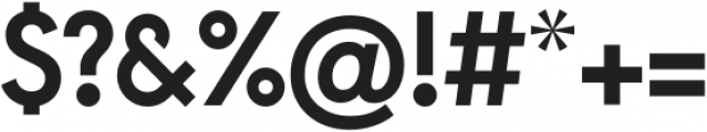 Arca Majora Bold otf (700) Font OTHER CHARS