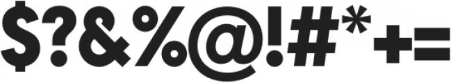 Arca Majora ExtraBlack otf (900) Font OTHER CHARS