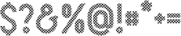 Arcachon Dots otf (400) Font OTHER CHARS