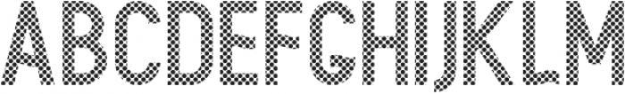 Arcachon Dots otf (400) Font UPPERCASE