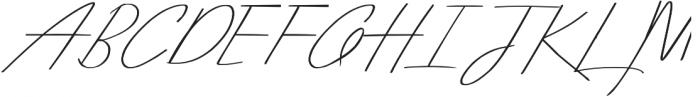 Arcadia Nova otf (400) Font UPPERCASE