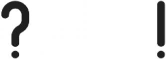 Arcane Regular otf (400) Font OTHER CHARS