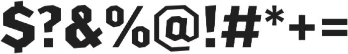 Arcas Bold otf (700) Font OTHER CHARS