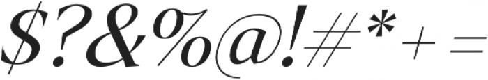Archeron Pro Book italic otf (400) Font OTHER CHARS