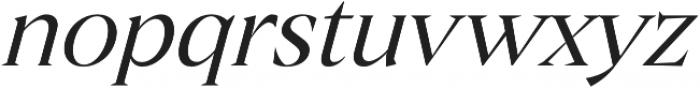 Archeron Pro Book italic otf (400) Font LOWERCASE