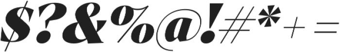 Archeron Pro Heavy italic otf (800) Font OTHER CHARS