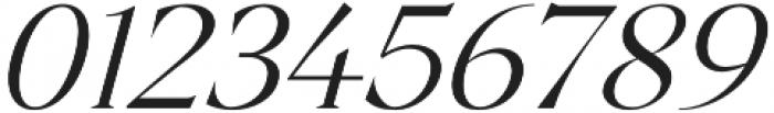Archeron Pro Light italic otf (300) Font OTHER CHARS