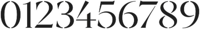 Archeron Pro Stencil Book otf (400) Font OTHER CHARS