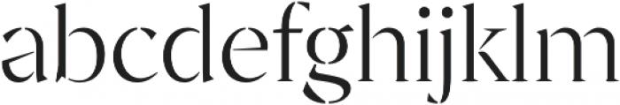 Archeron Pro Stencil Light otf (300) Font LOWERCASE