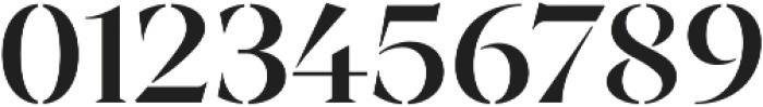 Archeron Pro Stencil Medium otf (500) Font OTHER CHARS