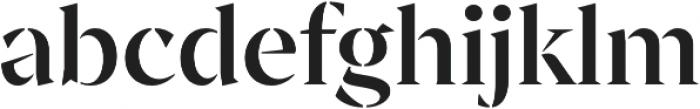 Archeron Pro Stencil Medium otf (500) Font LOWERCASE