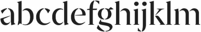 Archeron Pro Stencil otf (400) Font LOWERCASE