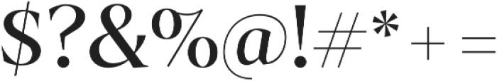 Archeron Pro otf (400) Font OTHER CHARS
