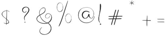 Archipelago Regular otf (400) Font OTHER CHARS