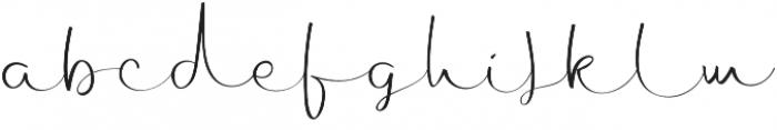 Archipelago Regular otf (400) Font LOWERCASE