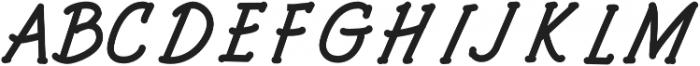Architects and Draftsmen Bold Italic otf (700) Font UPPERCASE