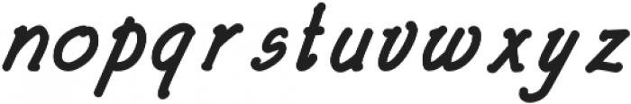 Architects and Draftsmen Bold Italic otf (700) Font LOWERCASE