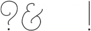 Architects and Draftsmen Light otf (300) Font OTHER CHARS