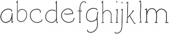 Architects and Draftsmen Light otf (300) Font LOWERCASE